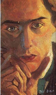 auto portrait de max ernst 1909 [web520]