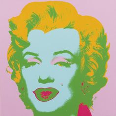 Marilyn Monroe 28 by Andy Warhol. Warhol's Marilyn images are some of his most iconic works. The piece is one of a series of ten screenprints he created based on an photo believed to have been taken by Gene Korman as a publicity shot for her 1953 film Niagara.