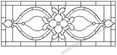 stained glass designer pattern