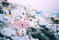 Santorini, Greece- cant wait to go visit family someday!