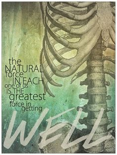 greatest force in getting well chiropractic medical poster artwork art force office decoration