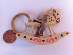 dollhouse tutorial - how to make a 1:12 miniature rocking horse