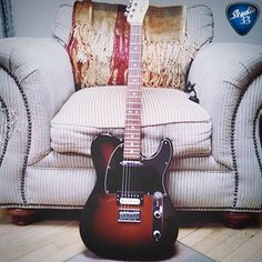 Who wouldn't love to get comfortable and spend some time playing @collibuddz beauty this #teletuesday #studio33guitar