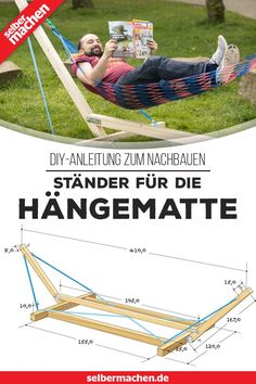Account Suspended - Build your own Stand for the hammock – DIY-guide – garden – -