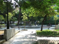 Plateia Olgas (Olgas Square), patras greece
