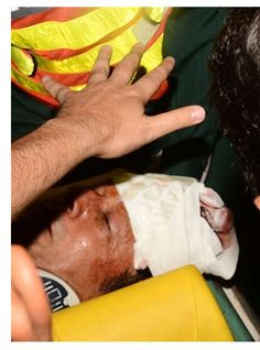 Imran Khan in stable condition after falling off forklift