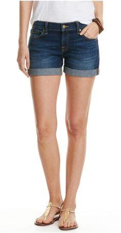 Vineyard Vines Cuffed Dark Wash Denim Shorts - Blue Moon 84a269e328e