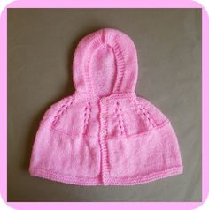 marianna's lazy daisy days - Carla Hooded Baby Jacket - free knitting pattern