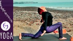 Yoga Stretching for Leg Flexibility (no more low back pain!) With Fightm...