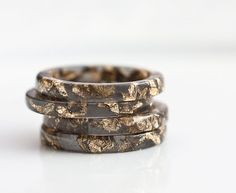 Etsy round up: stackable rings