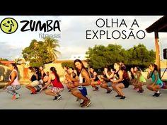 ZUMBA - OLHA A EXPLOSÃO | Mc Kevinho e Wesley Safadão | Professor Irtylo Santos - YouTube