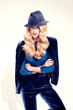 dreaming of a blue velvet suit
