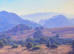 Oil Painting of California Landscape Malibu by EverythingElena, $850.00