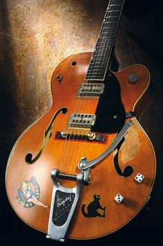 The best Guitar ever!!! Brian's 1959 6120 Gretch. #gretschguitars