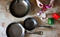 KITCHEN & DINING: AUSfonte cast iron and AUS-ION steel panS by Solidteknics