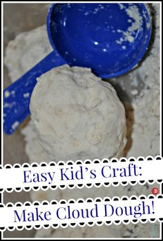 Two-Ingredient Cloud Dough Recipe