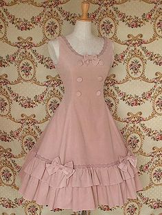 Princess Sleeveless Cotton Classic Lolita Dress