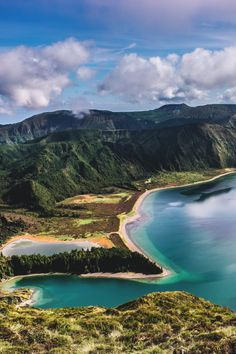 i-long-to-travel-the-world: Lagoa do Fogo São Miguel | Manuela Juliano - If you love this beautiful picture like it. We post stuff just like this every day on Facebook. Like us by clicking here: http://on.fb.me/1bgLOYJ - You wont regret it.