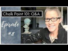 Chalk Paint 101 Questions et réponses: Épisode 8 - YouTube Blue Painted Furniture, I 8, Question And Answer, Chalk Paint, Youtube, Annie Sloan, Painting, Painted Furniture