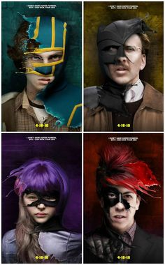 Movie Friday: 14 Alternative 'Kick-Ass' Movie Posters #kickass #kickass2