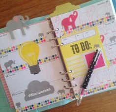 Filo Cuteness: Elephants & Polka Dots in My A5
