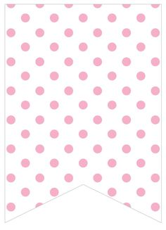 light pink dots