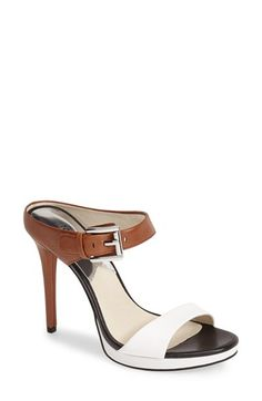 MICHAEL+Michael+Kors+'Beverly'+Leather+Mule+Sandal+(Women)+available+at+#Nordstrom
