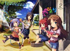 Media Factory Sets Japanese 'Non Non Biyori' Anime DVD/BD Release Schedule