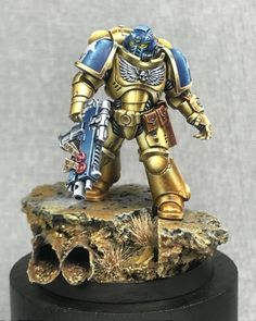 A selection of 25 models from the Everchosen contest gallery, open for public voting until August Warhammer 40k Figures, Warhammer Paint, Warhammer Models, Warhammer 40k Miniatures, Warhammer 40000, Necron, Imperial Fist, Painting Competition, Paint Effects
