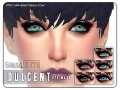 The Sims Resource: Dulcent  - Eye Mask by Screaming Mustard • Sims 4 Downloads