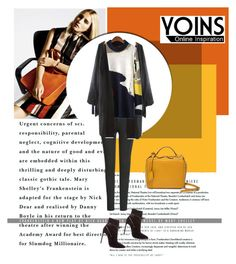 """YOINS III/23"" by amra-mak ❤ liked on Polyvore featuring Hemingway, Mark Cross, Yves Saint Laurent and yoins"