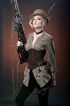 steampunk fashion images
