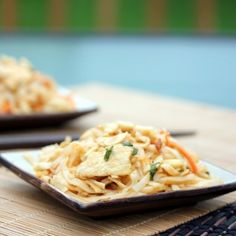 Chicken Pad Thai - A quick and easy meal that's delicious any night of the week!