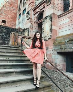 Falling in love with all of the pink dresses lately I finally put up a blog post and it's this look from Heidelberg Castle!  Head over to NoellesFavoriteThings.com to see the full blog post shop direct links to this look and hear about my travels so far!