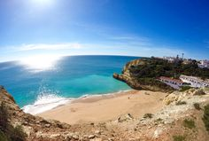 Algarve, Portugal - via Marellen 28.01.2016   Up until a few weeks ago I had never heard about The Algarve in Portugal… to say the least, it completely blew me away! Beyond exceeded my expectations, and a holiday destination I would highly recommened! Photo: Lagoa, Portugal