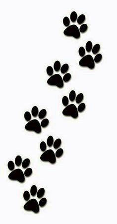 Paw print tattoos on dog paw prints scroll clipart 3 3 Dog Tattoos, Cat Tattoo, Cat Paw Print Tattoo, Tattoo Frame, Mouse Tattoos, Family Tattoos, Wrist Tattoo, Arrow Tattoos, Feather Tattoos