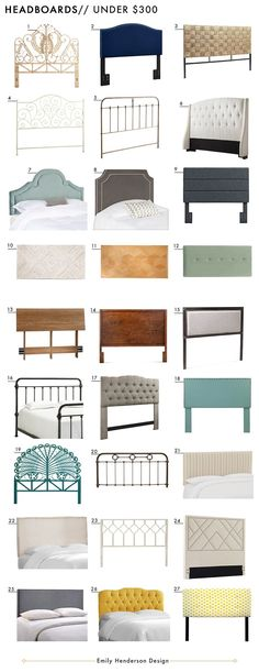 Affordable Headboards Under $300 Roundup Emily Henderson Design