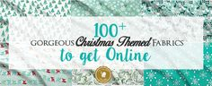We have selected of the best Fabrics for Christmas Sewing Projects so you can sew the perfect Christmas Gifts for all your family and friends. Christmas Sewing Projects, Christmas Quilting, Sewing Patterns Free, Free Sewing, Sewing Ideas, Diy Heating Pad, Serger Thread, Organize Fabric, Perfect Christmas Gifts