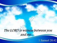 0514 1 samuel 2042 the lord is witness powerpoint church sermon Slide01  http://www.slideteam.net/