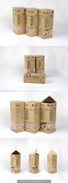 Hahne Müesli by Goze Ekim Popcorn Packaging, Cereal Packaging, Smart Packaging, Organic Packaging, Fruit Packaging, Chocolate Packaging, Food Packaging Design, Paper Packaging, Coffee Packaging