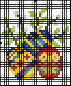 схемы вышивки крестом пасха - Поиск в Google