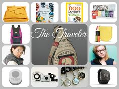 Gifts for THE TRAVELER! http://ospa.me/1wTuB5r  ABC Carpet & Home Green Kitchen Stories Barnes & Noble H. Gillerman Organics True Nature Botanicals red flower 1:Face Watch Torrain Recycled Bags Trek Light Gear Nap Anywhere Vivitar National Geographic
