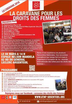 INVITATION : LA CARAVANE POUR LES DROITS DES FEMMES 2018