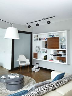 Sixfingers - Mieszkanie prywatne fot. Cztery Kąty Jasny salon