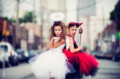 Cute Devil And Angel Costumes For Kids | Costumepedia.com