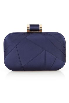 GORGEOUS navy clutch from Coast