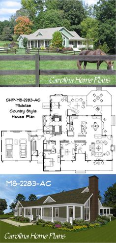 Midsize House Plan MS-2283-AC, North Carolina