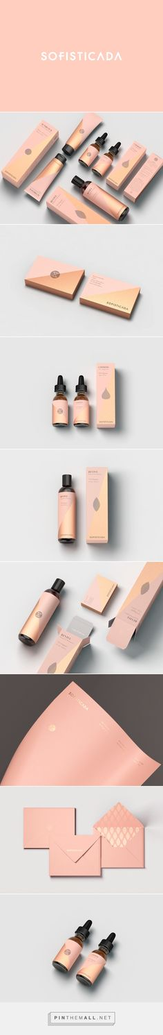 Sofisticada Brand Cosmetic Packaging by Robinsson Cravents