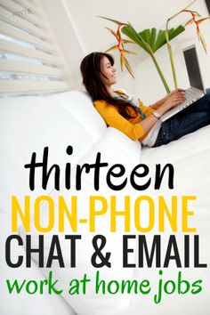 Are you looking for a non-phone work at home job? Here's a big list of 13 chat and email based work at home jobs that don't…
