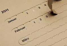 FIT Desired Deadline Annual Calendar by Marcus Feil
